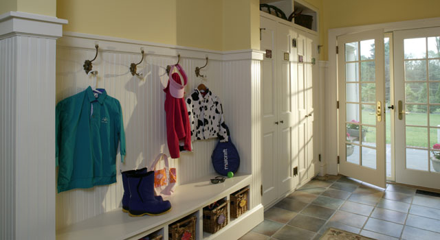 Difference Between Foyer And Entry : Why your mudroom should be rear foyer portfolio